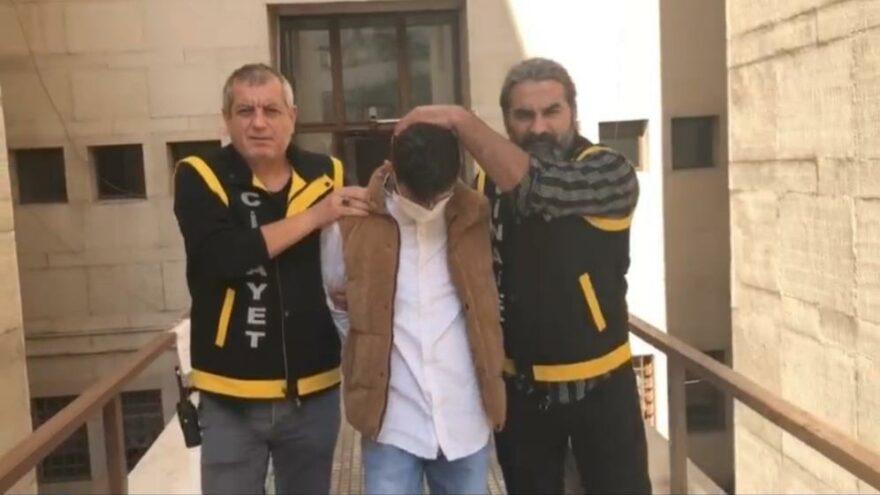 Husumetlisini sırtından vuran zanlı tutuklandı