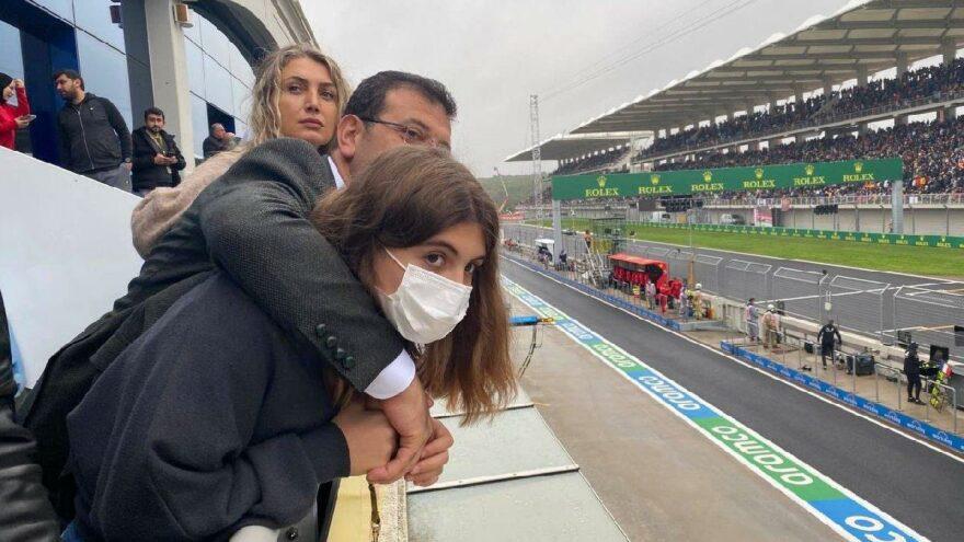 İmamoğlu'ndan Formula 1 paylaşımı: Heyecana ortak oldum