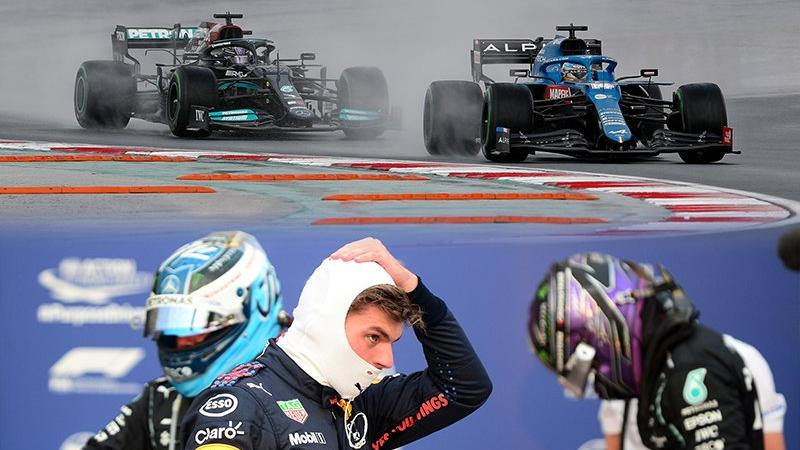 Formula 1 heyecanı İstanbul'da! Dünya gözü bu yarışta