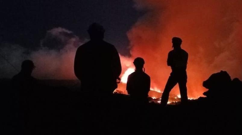 La Palma Yanardağı'nda lavlar onlarca evleri yuttu