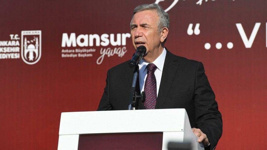 Mansur Yavaş: Ankara sanata saygı duyulmayan bir kent olmuştu…