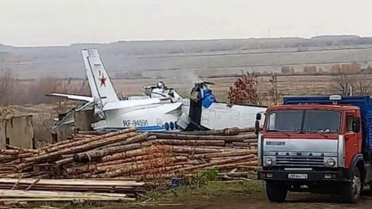Rusya'da uçak düştü: Ölü ve yaralılar var