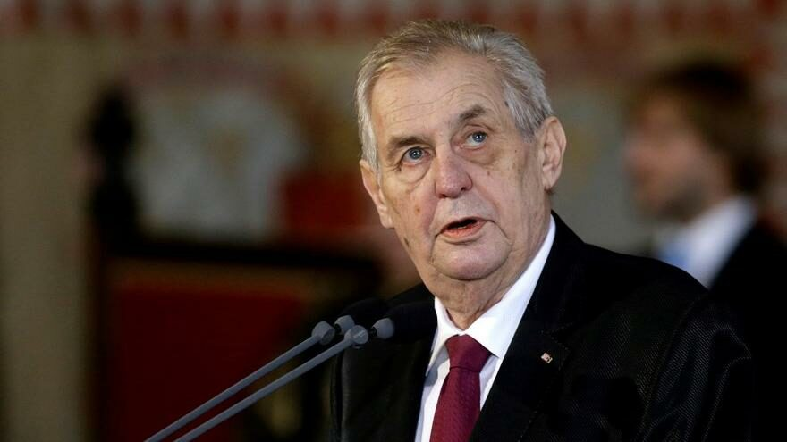 Çekya Cumhurbaşkanı hastaneye kaldırıldı