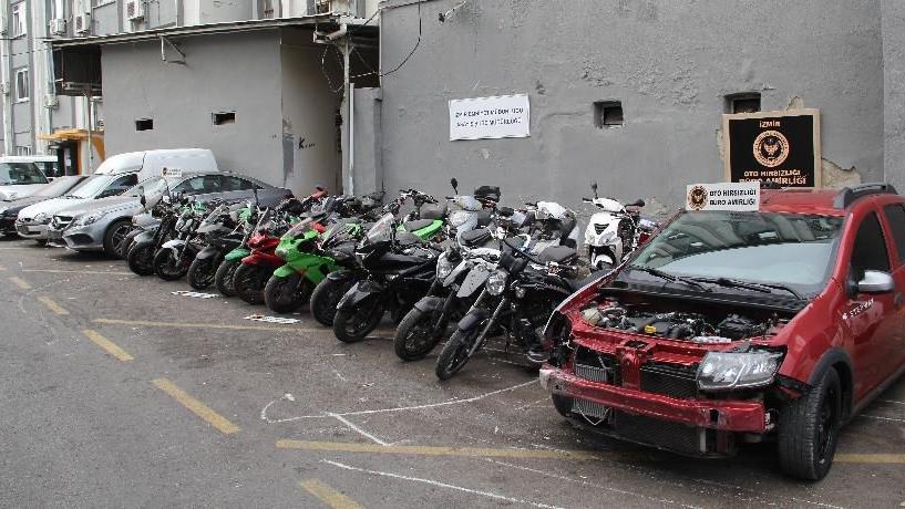 Oto hırsızlarına operasyon: 38 araç ele geçirildi
