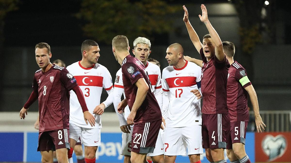 Letonya-Türkiye maçında nefes kesen final! Son saniye penaltısıyla üç puan