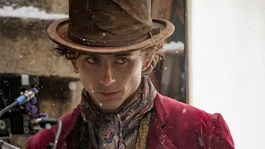 Yeni Willy Wonka'yı oynayan Timothee Chalamet ilk kareyi paylaştı
