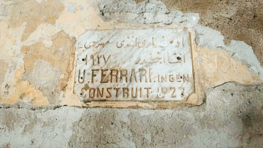 İBB'nin restorasyon çalışmasında mimar kitabesi bulundu