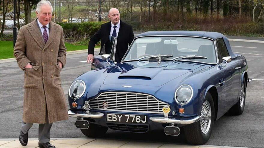 Prens Charles'ın 50 yıllık klasik otomobili şarap ve peynirle çalışıyor