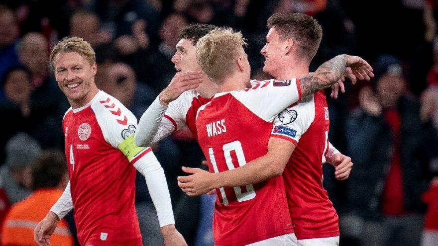 Danimarka Dünya Kupası'nda! Dünya 'Vikingler'i konuşuyor…
