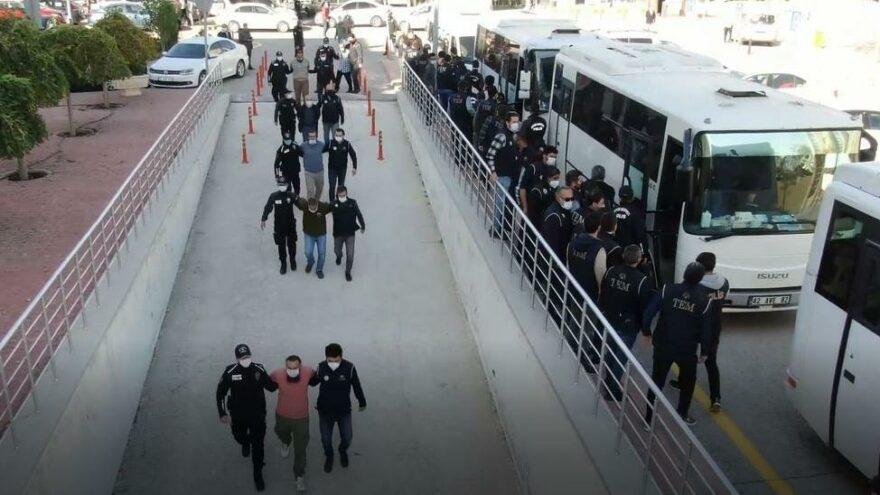 İnfaz mahkemeleri kuran silahlı suç örgütüne operasyon: 28 kişi tutuklandı