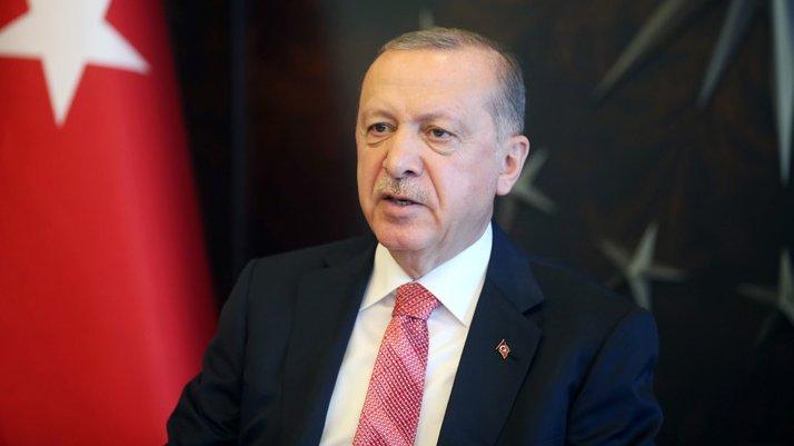 Cumhurbaşkanı Erdoğan'dan 'iklim değişikliği' mesajı
