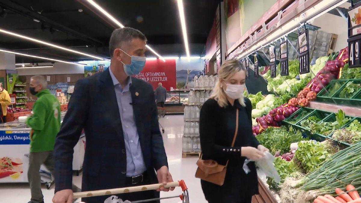Erdoğan'ın 'fiyatlar uygun' dediği markette temel ihtiyaç alışverişi 777 lira tuttu