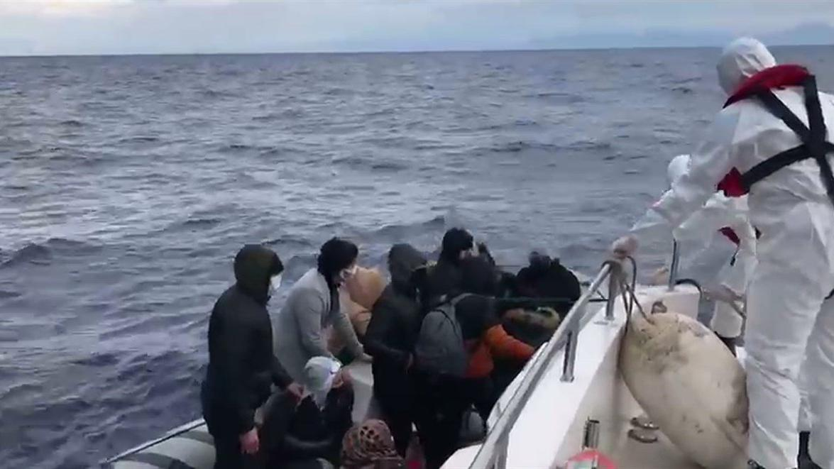 Yakalanan düzensiz göçmen sayısı düştü