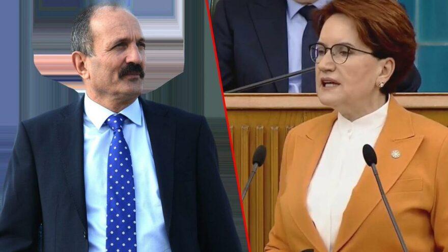 İYİ Parti'ye katıldı, rozetini Akşener taktı