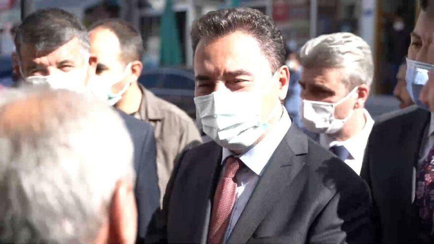 Babacan'dan 'telefonla konuşmaktan korkuyoruz' diyen vatandaşa: Korkmadan yürüyeceğiz