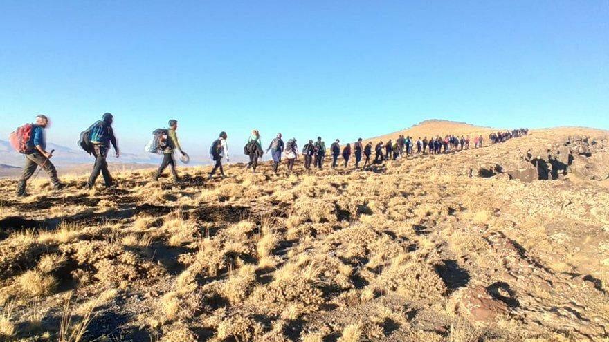 Kampçıların yeni gözdesi: Nemrut Krater Gölü