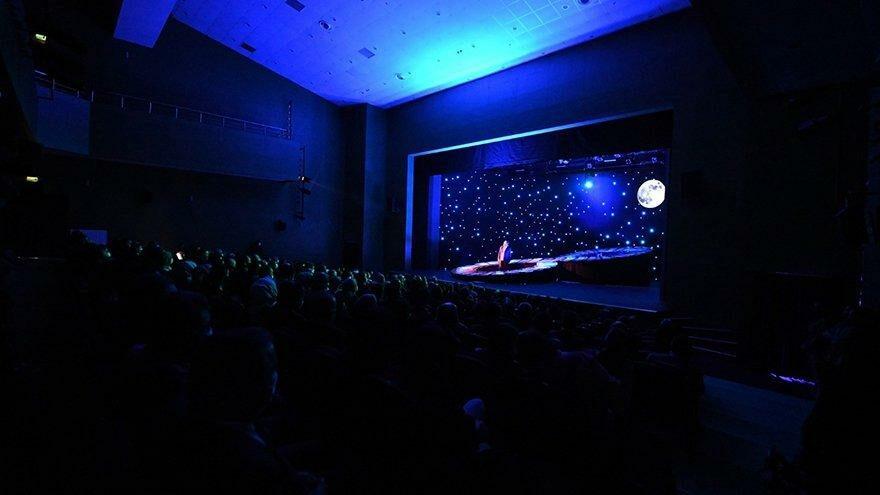 Ankara'nın en büyük tiyatro salonu açıldı