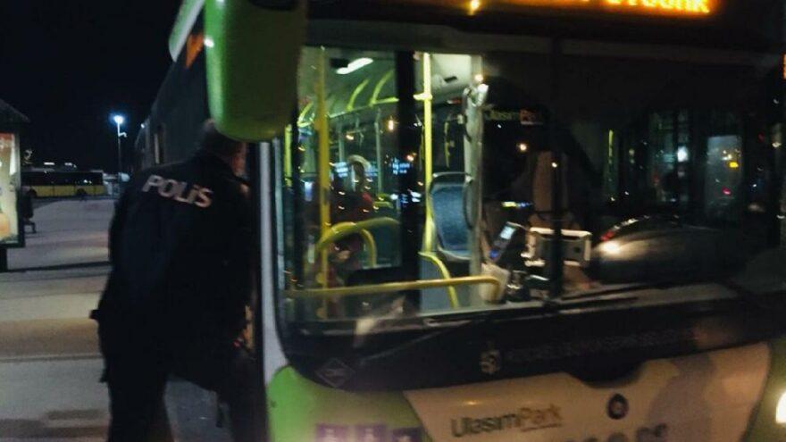 Vurdumduymazlığın bu kadarı! Tüm yolcular otobüsten indi, polis müdahale etti