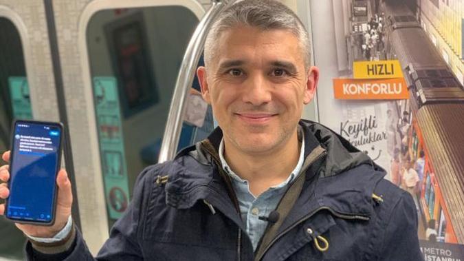 'İnternetçi arkadaş' duyurdu, metro hattında internet çekecek