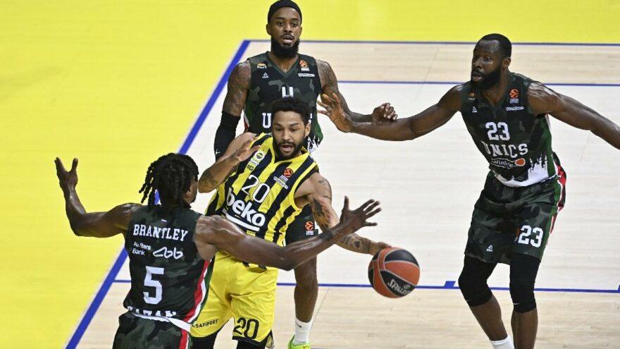 Fenerbahçe Beko güle oynaya kazandı