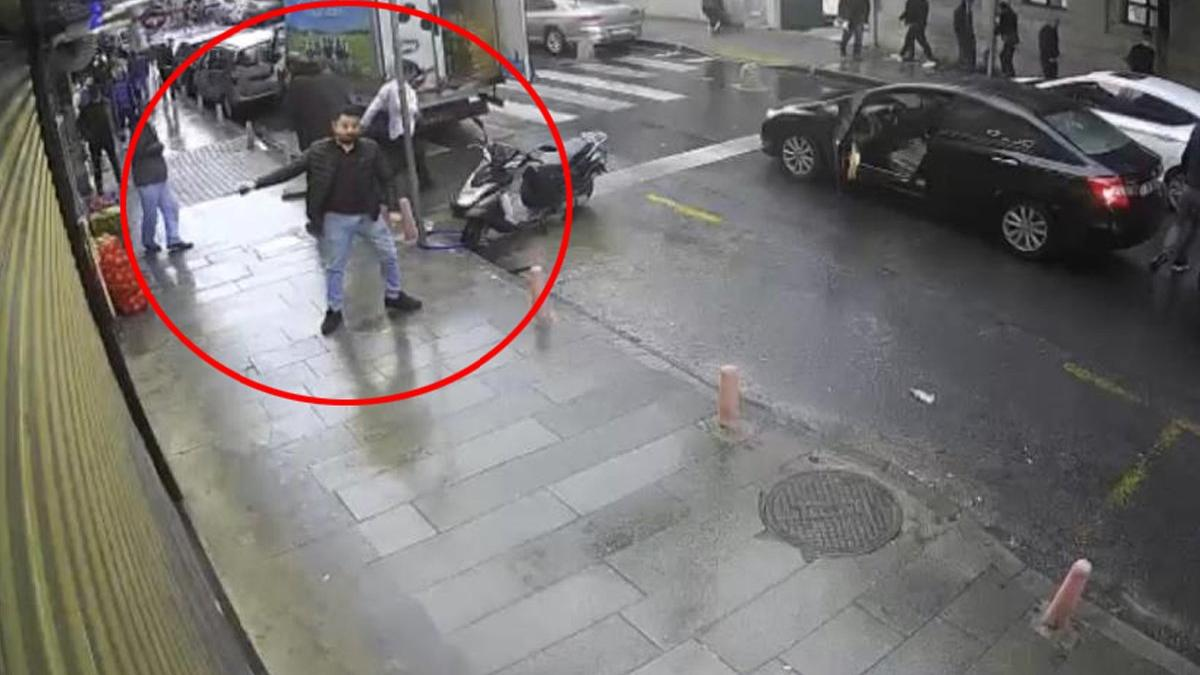 İstanbul'da dehşet anları! Güpegündüz kurşun yağdırdı
