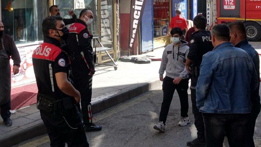 Kıraathane kundaklama iddiasına 3 gözaltı