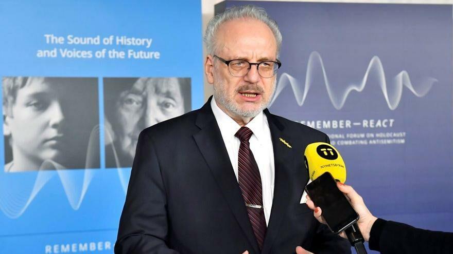 Letonya Cumhurbaşkanı'nın Covid-19 testi pozitif çıktı