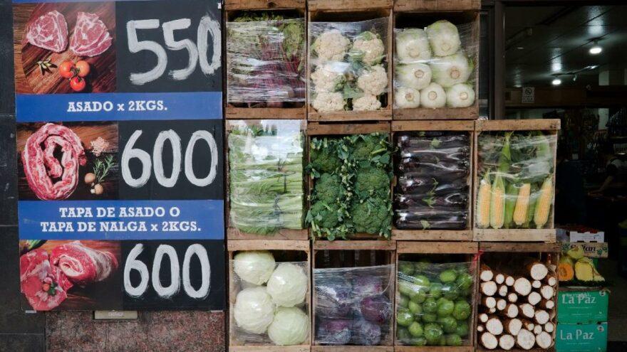 Arjantin'de gıda fiyatlarına devlet müdahalesi: Zamlar durduruldu