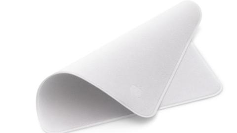 Apple'dan 200 liralık ekran temizleme bezi