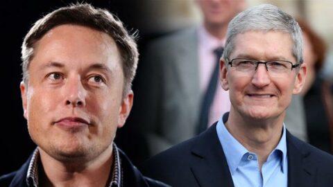 Elon Musk'tan Apple CEO'su Tim Cook'un İstanbul paylaşımına 'bezli' tepki
