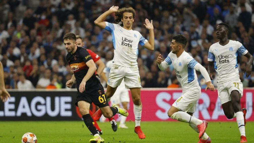 Galatasaray, Marsilya deplasmanından lider döndü: 0-0